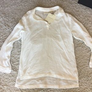 Cynthia Rowley Thin Beachy Lounge Top